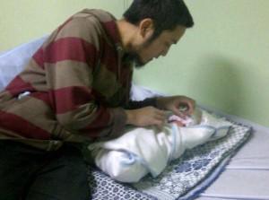 Kelahiran Puteri Sulung Ustaz Haidar Mahmud