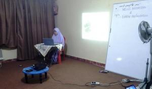 Mahasiswi Sayeda Zainab Menyahut Kepentingan Syariah Dalam Perubatan