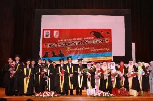 Sekalung Tahniah Buat Pemegang Ijazah Sarjana Muda Kedoktoran 2013