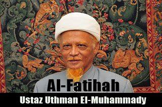 Belasungkawa Atas Pemergian Dr. Uthman El-Muhammady