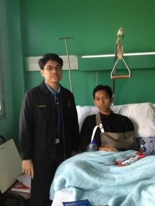 3 Pelajar Ain Syams Cedera Pada Malam Persembahan