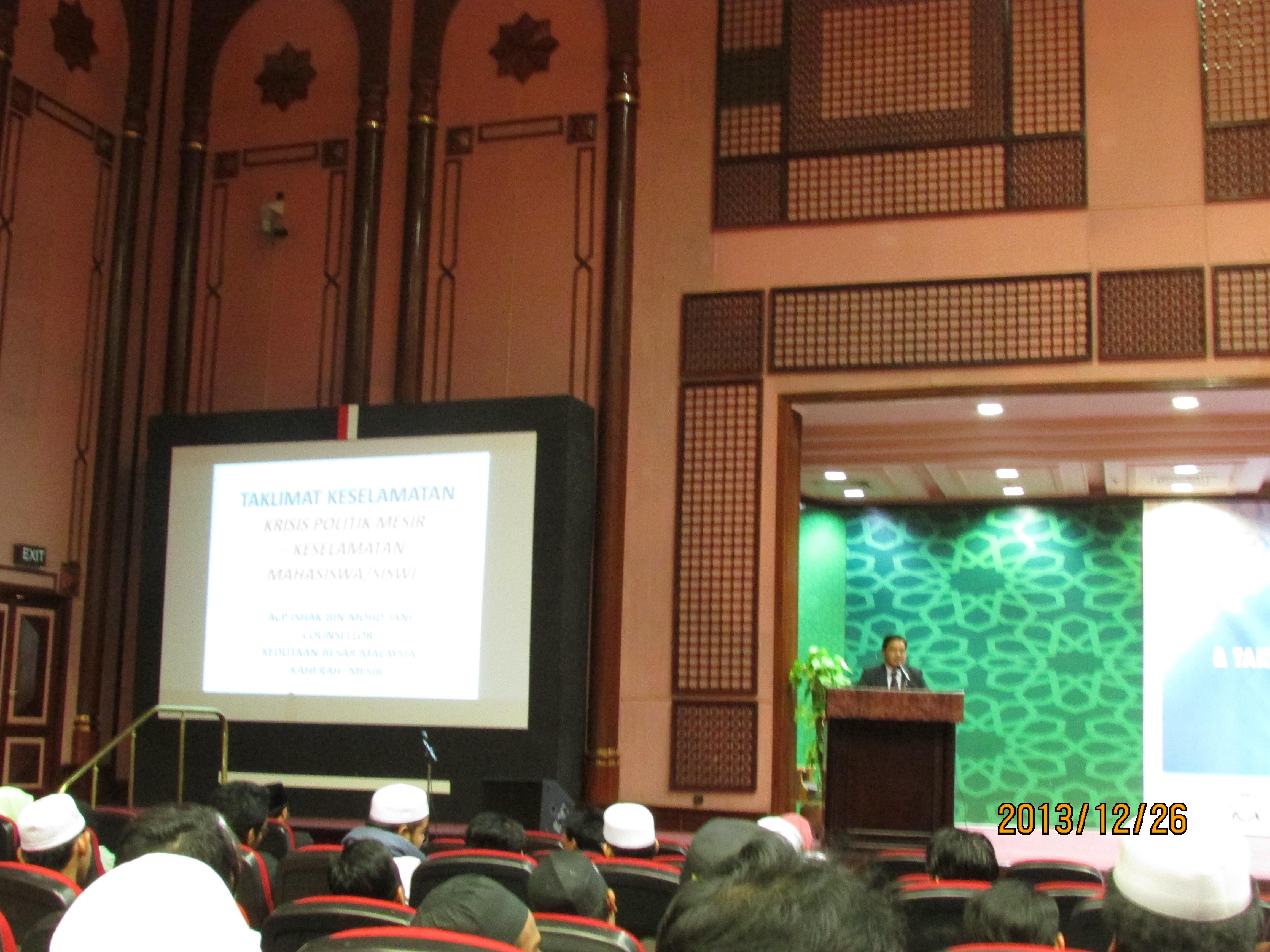 Duta, Pegawai EME dan wakil PDRM cakna keselamatan pelajar Malaysia di Mesir
