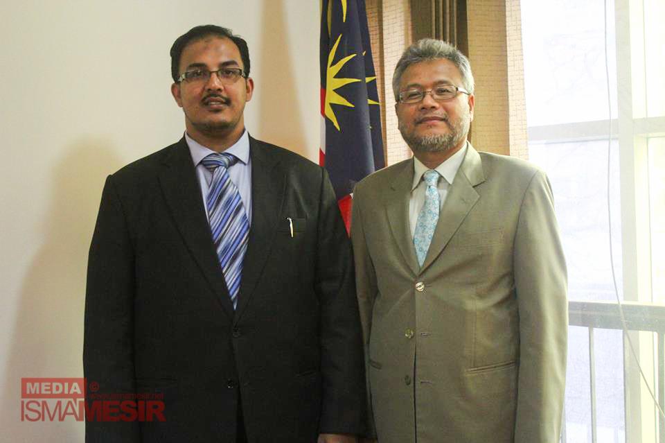 TYT Duta Besar Malaysia menerima lawatan rasmi JKP ISMA Mesir