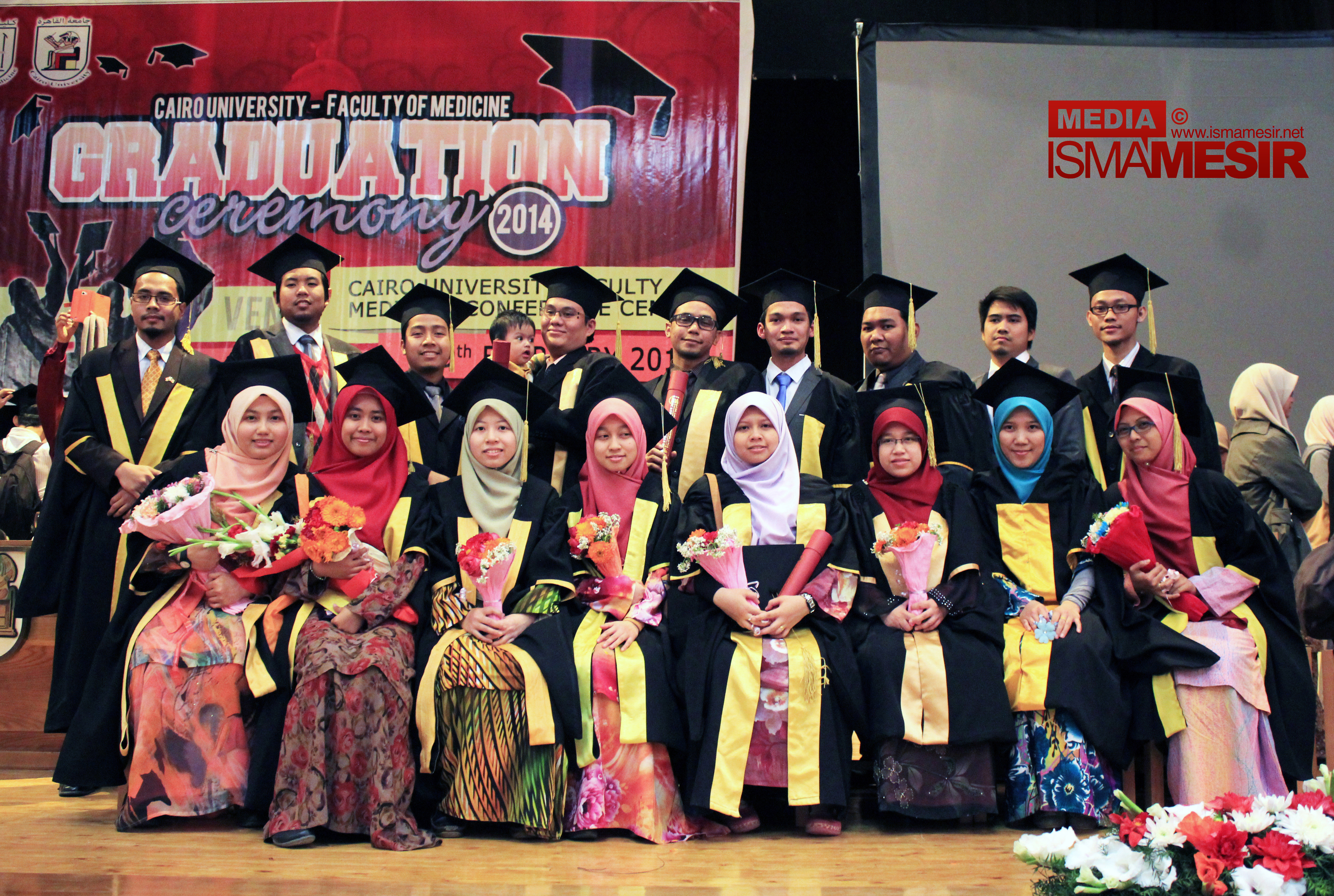 Sekalung Tahniah Buat Para Graduan Jurusan Kedoktoran