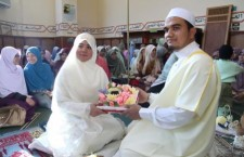 Tahniah buat pasangan pengantin, Umar dan Wafa