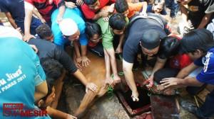 ISMA Mesir Sambut Korban dengan Meriah