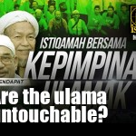 Are the ulama untouchable?