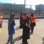 Cabaran Bola Jaring Disahut Mahasiswi ISMA Mesir
