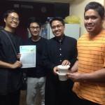 Ahli ISMA edar hampir 1000 taqwim berbuka sepanjang Ramadhan