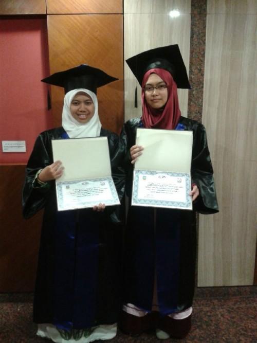 Dua aktivis Isma graduan farmasi tunggal Iskandariah