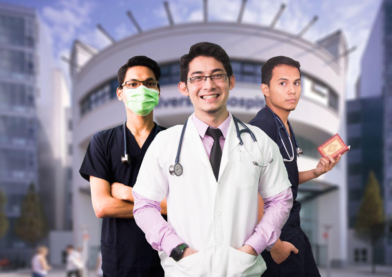 Doktor Muslim berkredibiliti tinggi