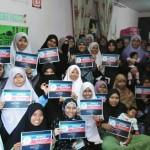 Mahasiswi teruja kempen World Quran Hour yang dilancarkan Isma Mesir