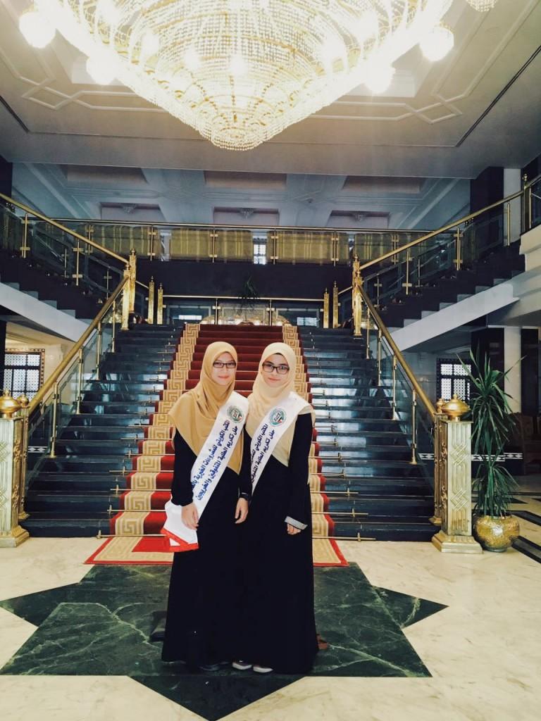Siswi Mumtaz ini peroleh anugerah dari Kuwait berbekalkan hafalan Al-Quran