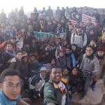 Ekspedisi Tarbawi 2016: Mahasiswa dan mahasiswi menikmati alam bersama Isma Mesir