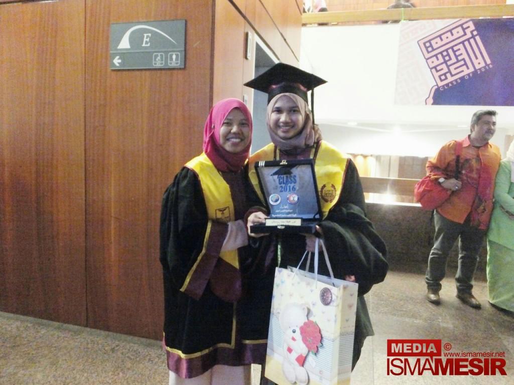 Aktivis Isma Mesir Iskandariah Mendapat Anugerah Kelas Kedua Kepujian