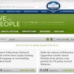 Petisyen White House: Sudah terang lagi bersuluh