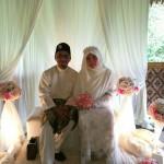 Pasangan Mempelai Isma Mesir Selamat Diijabkabulkan